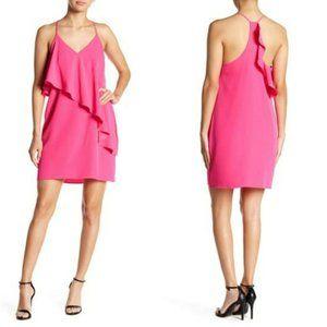 NWT A by Amanda Uprichard Cascading Ruffle Dress